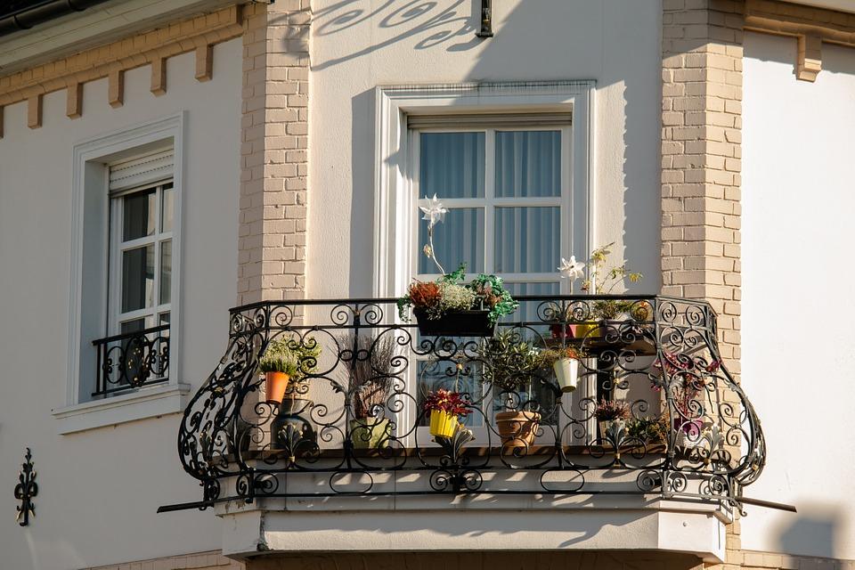 Petit balcon de ville